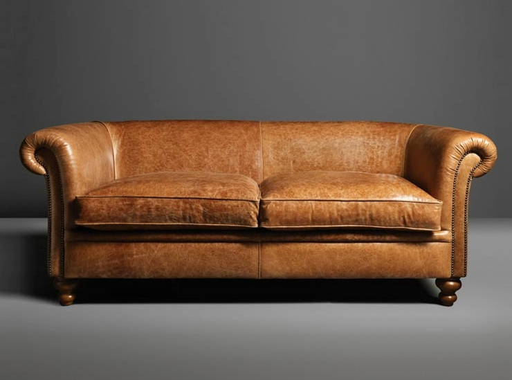Light Tan Leather Sofas Intended For Fashionable Impressive Light Brown Leather Sofa Tan Sofas – Interiorvues (View 7 of 10)
