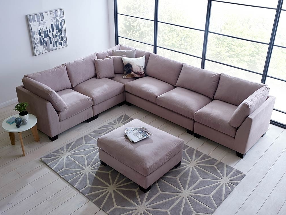 Living It Up Intended For Most Up To Date Modular Corner Sofas (View 4 of 10)