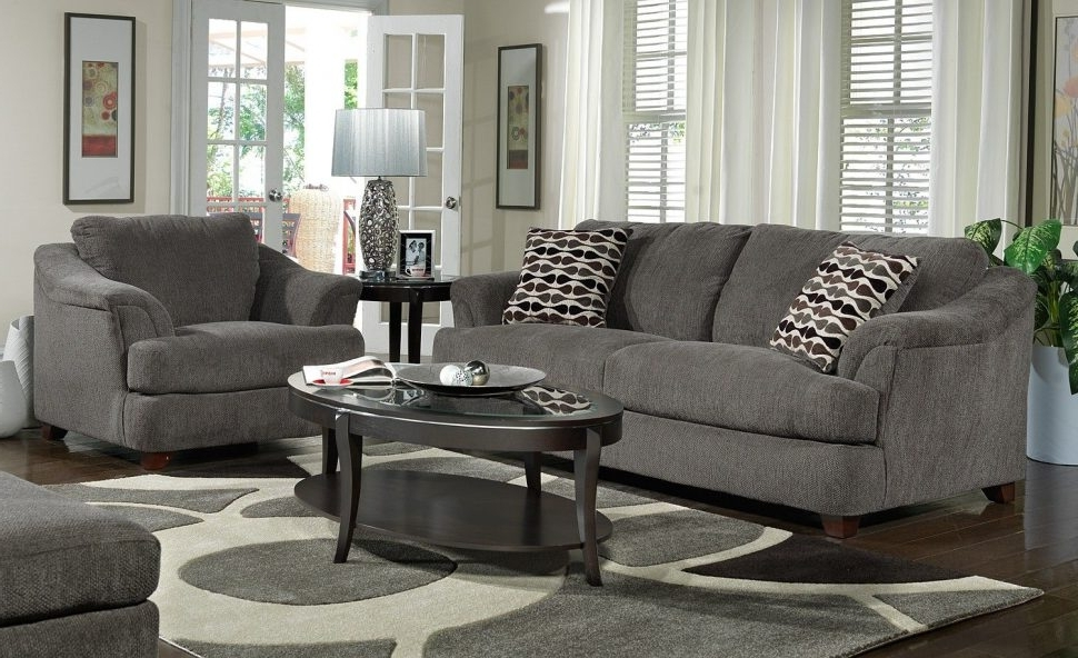 Living Room Design : Grey Sofa Living Room Ideas Design Curtains Within Latest Grey Sofa Chairs (View 10 of 10)