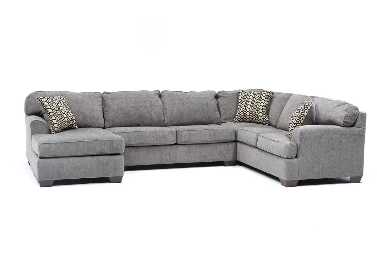 Living Spaces Intended For Best And Newest Gray Couches With Chaise (View 3 of 15)