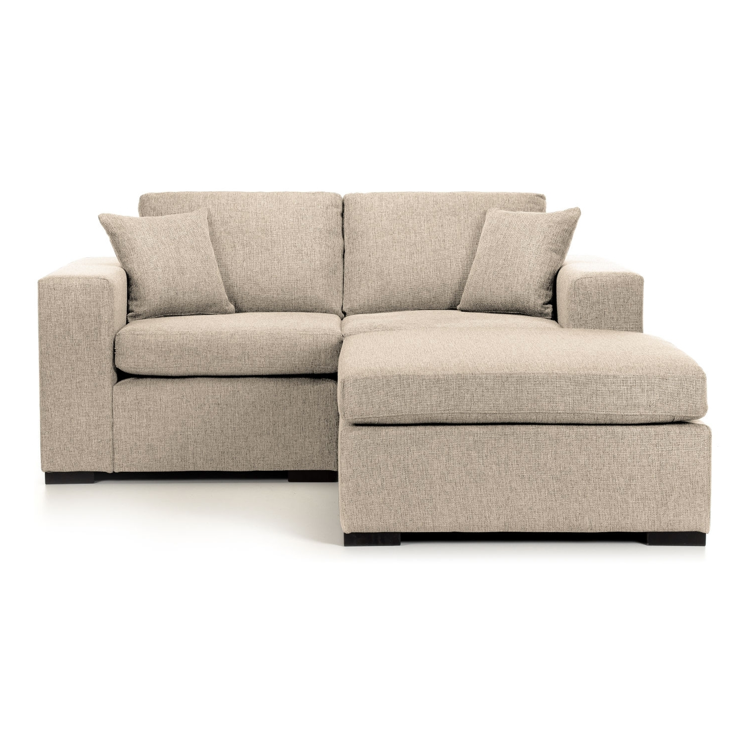 Lola Small Modular Corner Chaise Sofa – Next Day Delivery Lola Within Current Small Chaise Sofas (View 4 of 15)