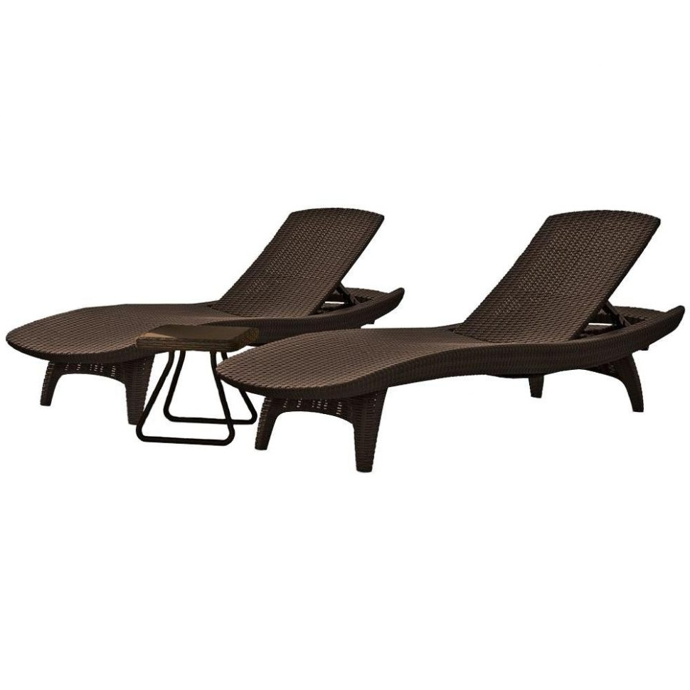 Lounge Chair : Black Metal Chaise Lounge Porch Lounge Chair Pertaining To Well Known Black Outdoor Chaise Lounge Chairs (View 8 of 15)