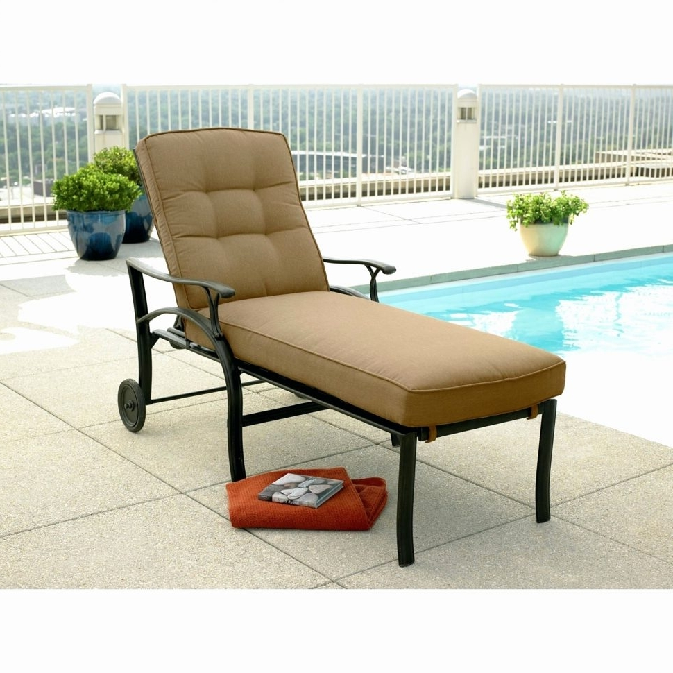 Lounge Chair : Lounge Furniture Metal Chaise Lounge Chair Cheap Within Well  Liked Outdoor Metal Chaise