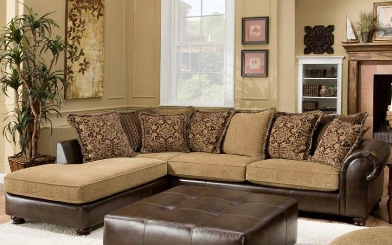 Lovable Sectional Sofa With Chaise Lounge 4 Sectional Sofa Styles Inside Best And Newest Sectional Sofas With Chaise Lounge And Ottoman (View 4 of 10)
