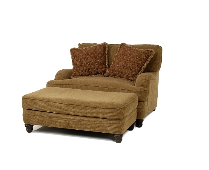Lovely Loveseat With Ottoman – Interiorvues Intended For Well Liked Loveseats With Ottoman (View 4 of 10)