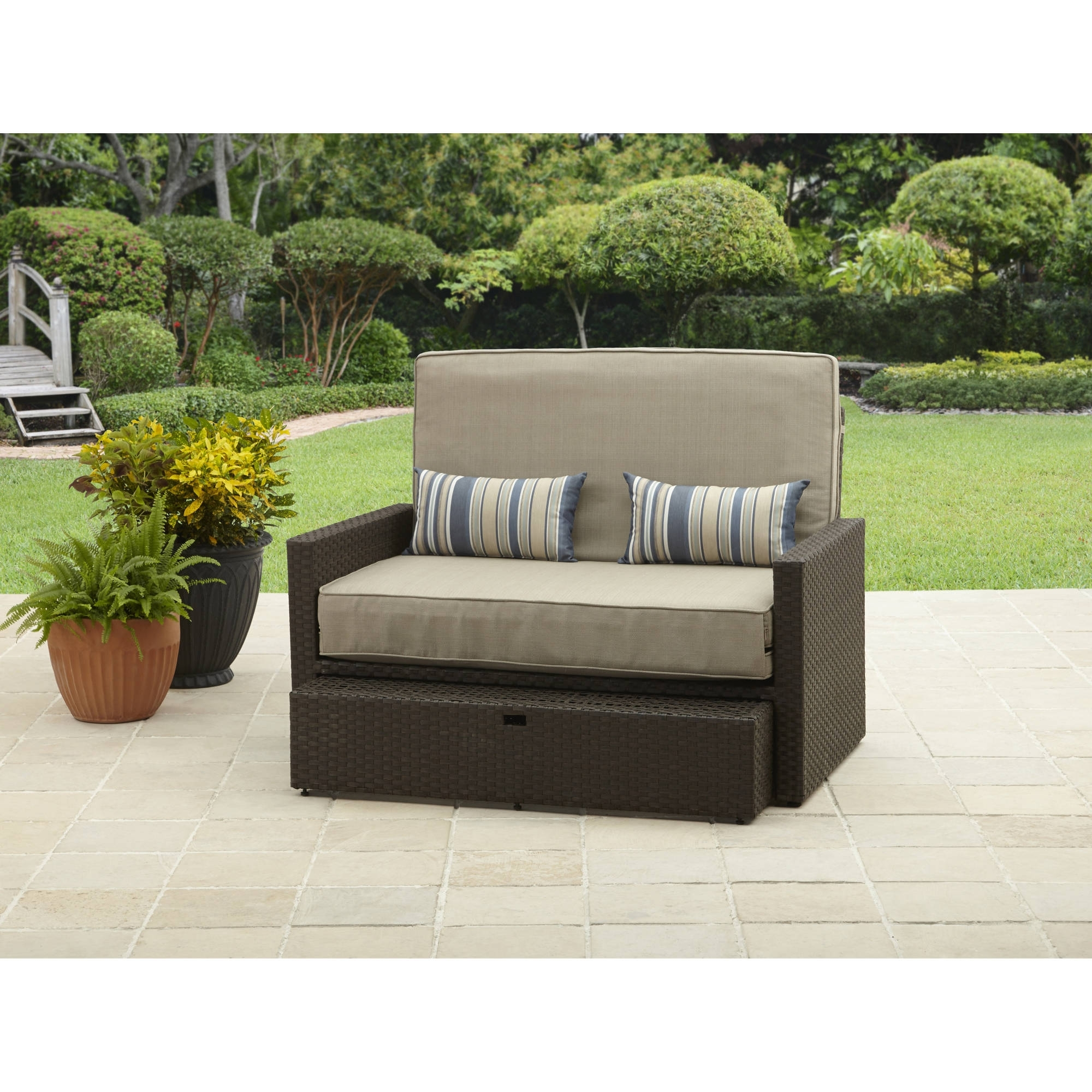 Loveseat Chaises With Most Popular Better Homes And Gardens Avila Beach Loveseat/chaise – Walmart (View 13 of 15)