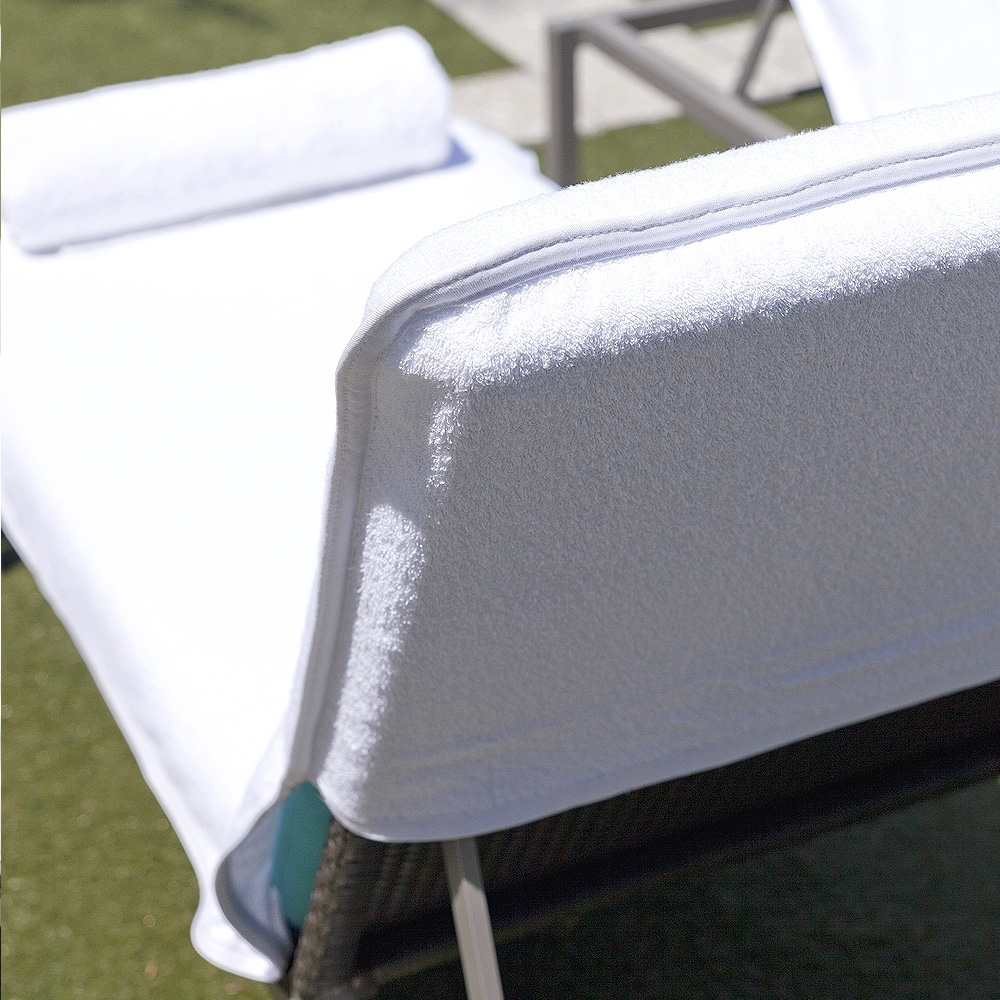 Luxury Chair Covers Archives – Boca Terry In Well Known Chaise Lounge Towel Covers (View 2 of 15)