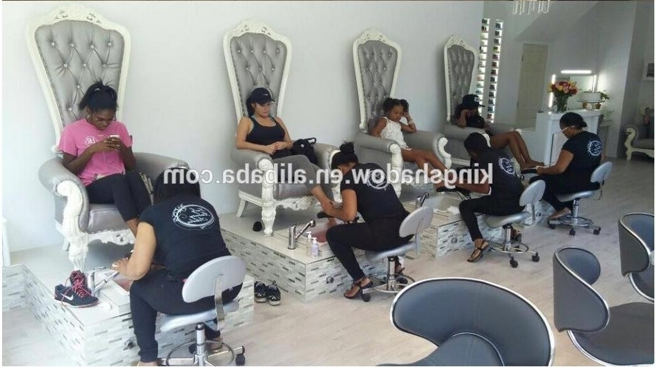 Luxury Queen Sofa Foot Spa Chair Pedicure Chair No Plumbing Used Within Well Known Sofa Pedicure Chairs (View 7 of 10)