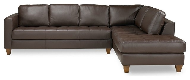 Macys Leather Sectional Sofas With Regard To 2017 Decoration Milano Leather Sofa With Milano Leather Sectional Sofa (View 5 of 10)