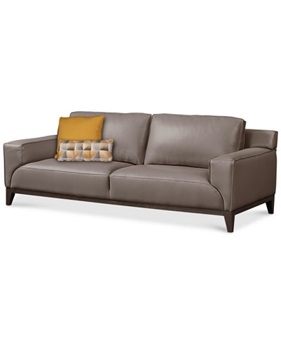 Macys Leather Sofa (View 3 of 10)