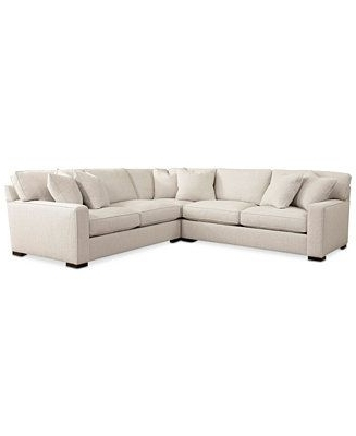Macys Leather Sofas Pertaining To Recent Closeout! Kelly Ripa Ampton 3 Pc (View 6 of 10)