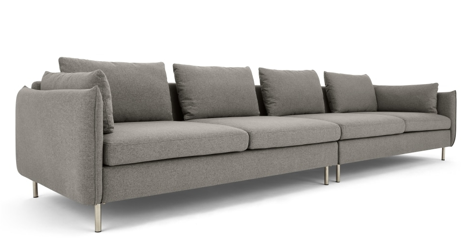 Made With Regard To Four Seater Sofas (View 7 of 10)