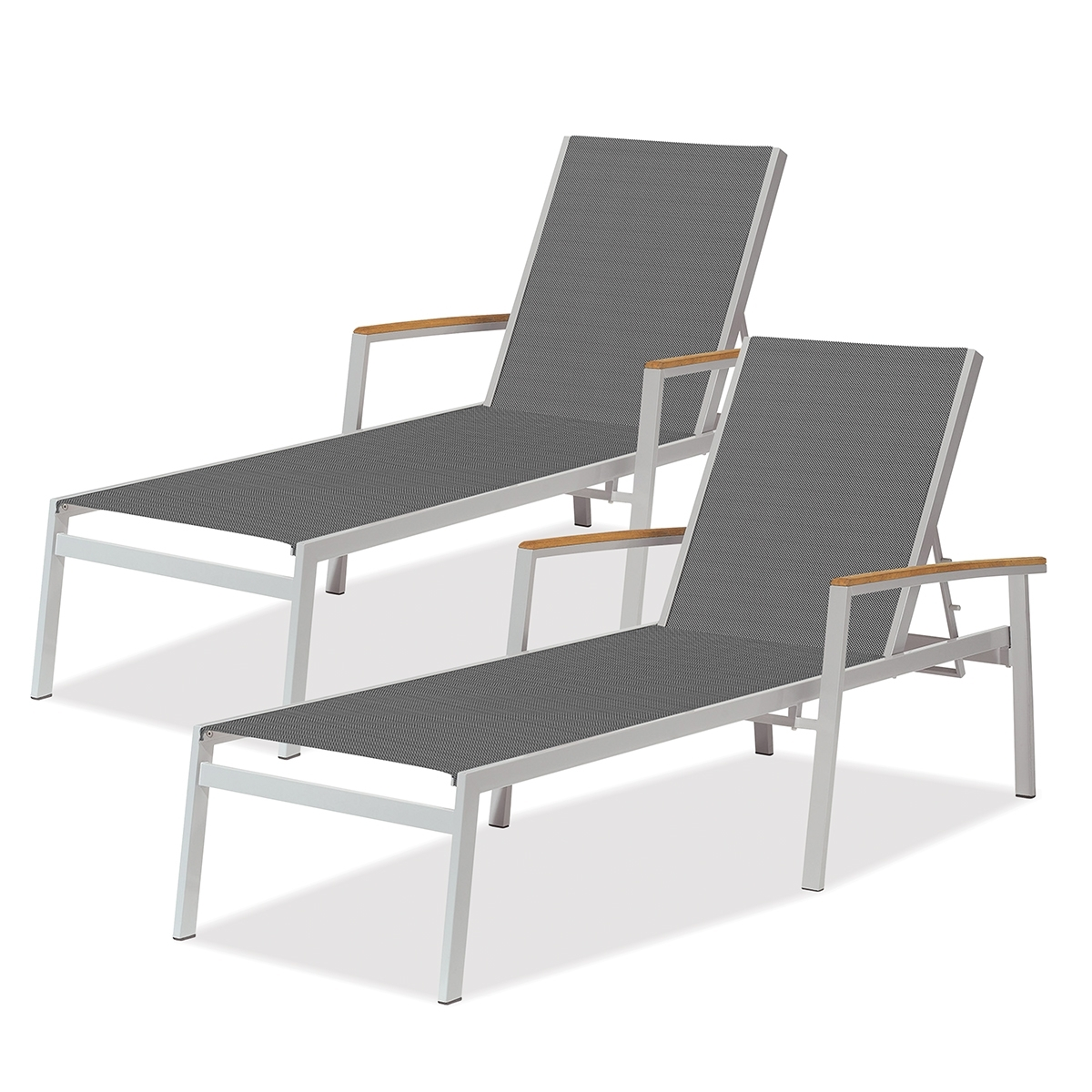 Madrone Regarding Fashionable Commercial Grade Chaise Lounge Chairs (View 9 of 15)