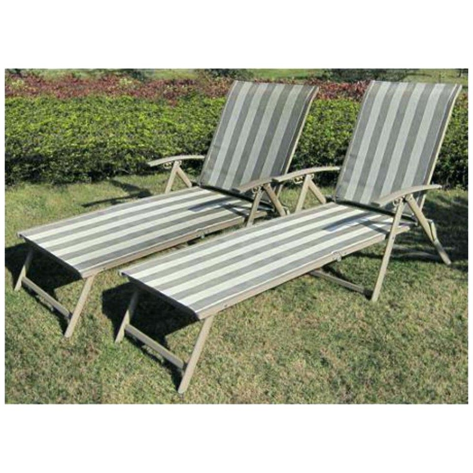 Maureen Outdoor Folding Chaise Lounge Chairs In 2018 Folding Chaise Lounge – Labrevolution (View 5 of 15)