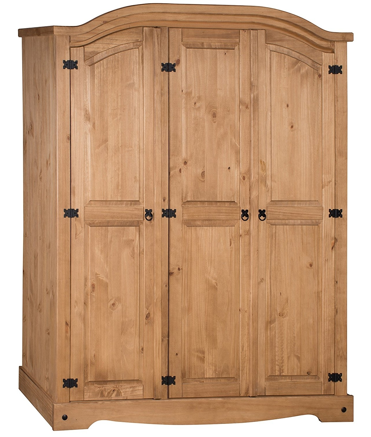 Mercers Furniture Corona 3 Door Arch Top Wardrobe: Amazon.co (View 7 of 15)