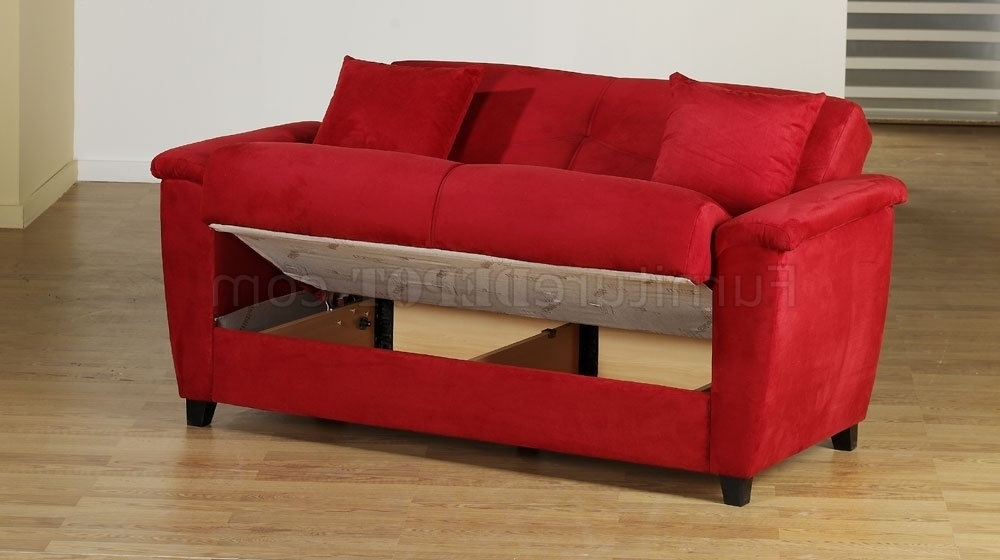 Featured Photo of Red Sleeper Sofas