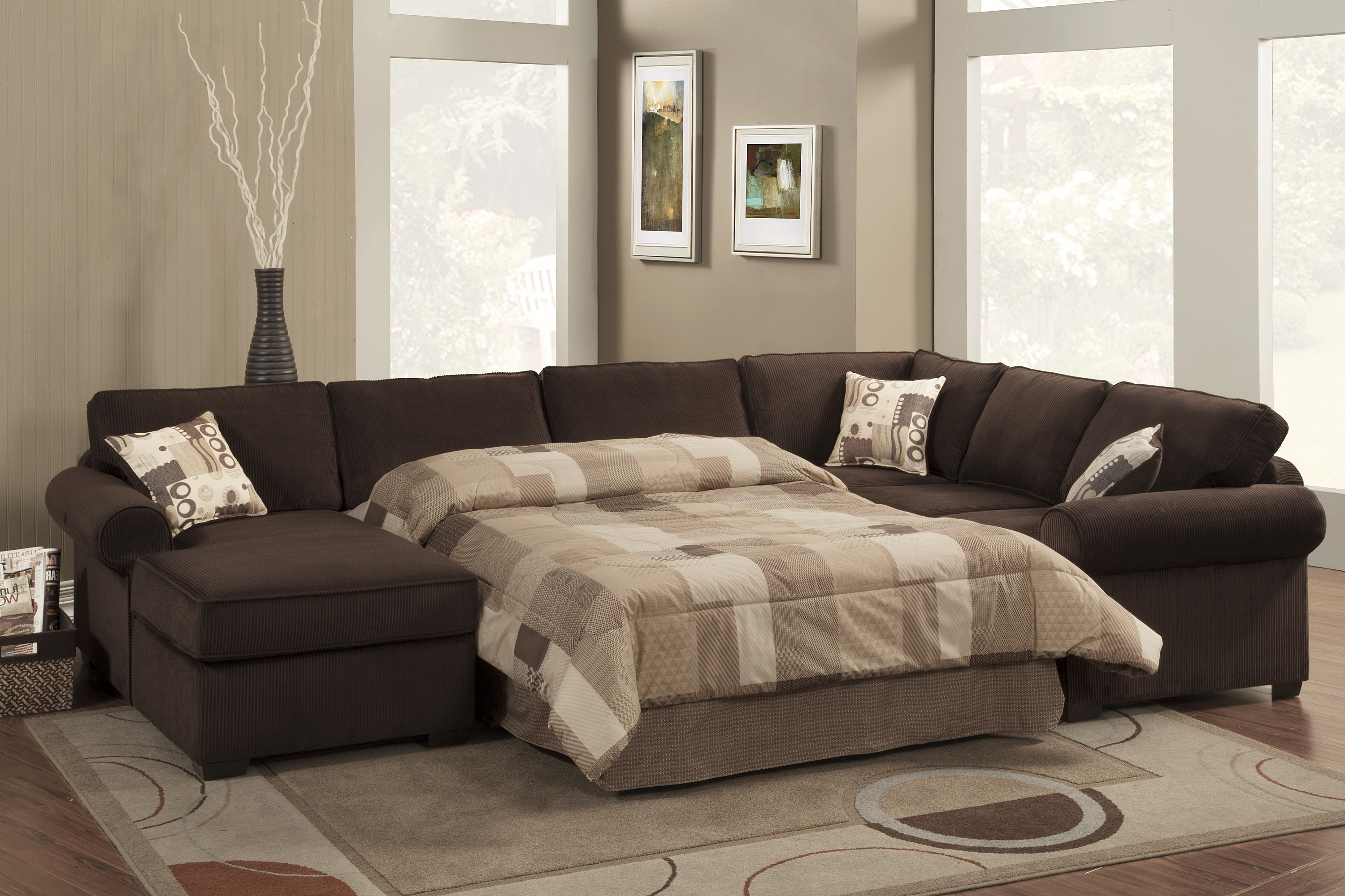15 Photos Microfiber Sectional Sofas With Chaise