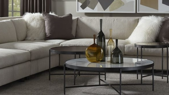 Mitchell Gold Sectional Sofa Living Room (View 6 of 10)
