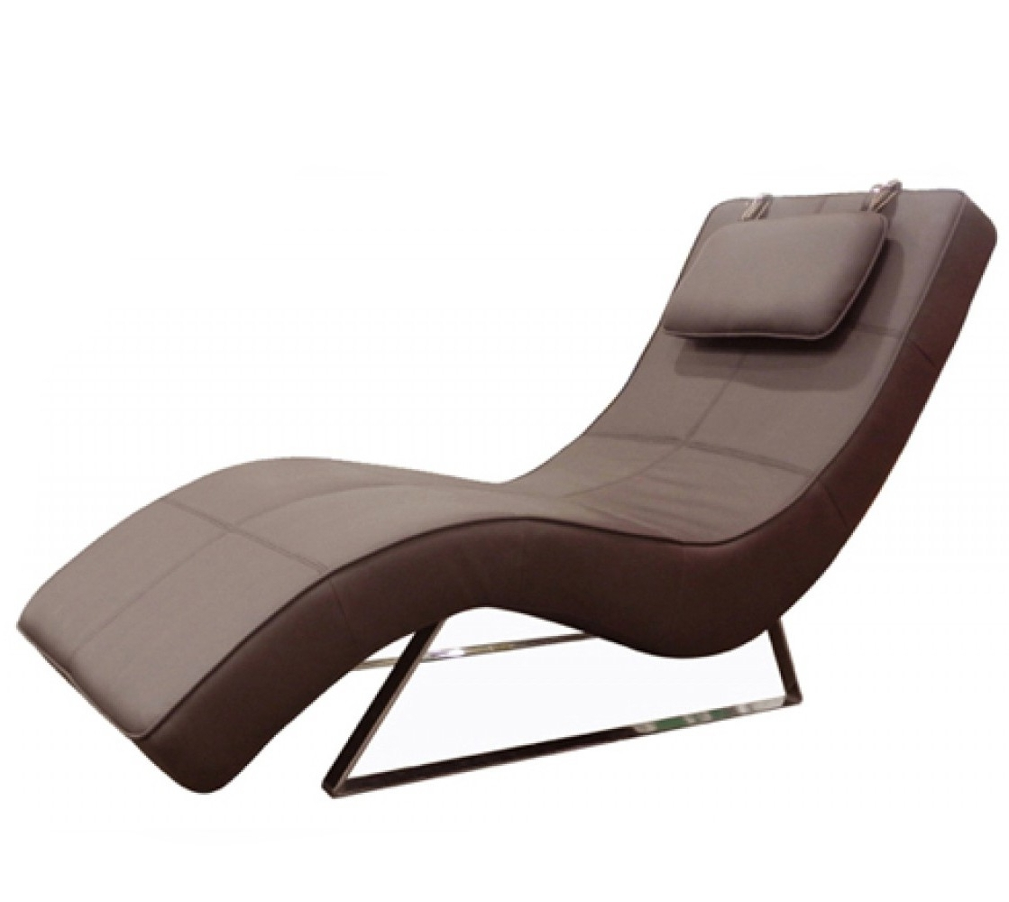 Modern Chaises Pertaining To Current Contemporary Chaise Lounge Chairs Modern Chaises Ottoman (View 7 of 15)