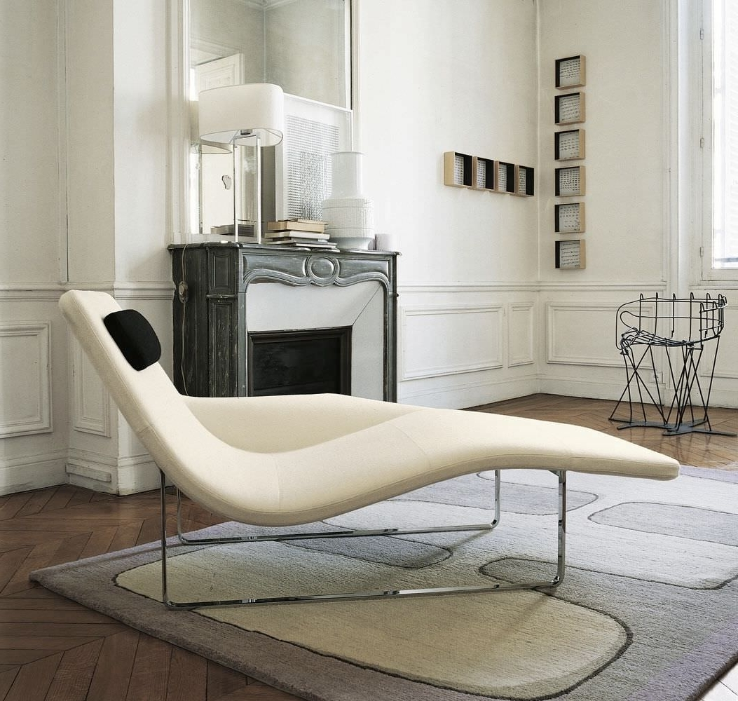 Modern Contemporary Chaise Lounge Furniture – Http://zoeroad Regarding Newest Modern Chaises (View 10 of 15)