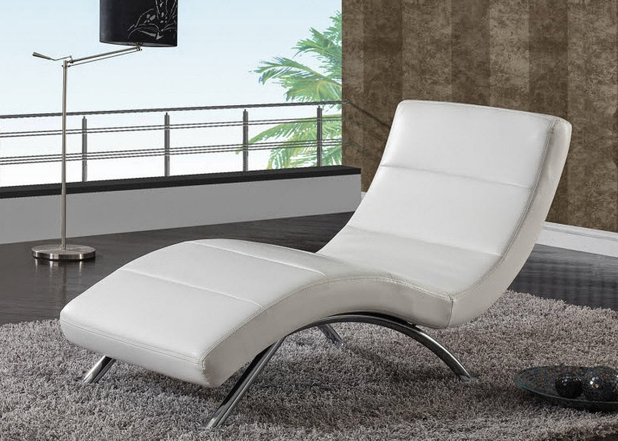 Modern Design Living Room Beauteous Chaise Lounge Chairs For Within Most Current Modern Chaise Lounge Chairs (View 9 of 15)