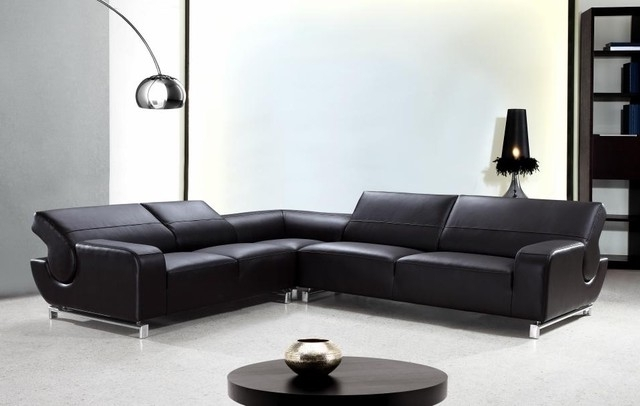 Modern L Shaped Couch Modern Sectional Sofas For Small Spaces In Well Liked Leather L Shaped Sectional Sofas (View 6 of 10)