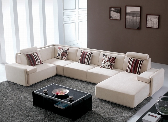 Modern Microfiber Sectional Sofas For Recent Gino Contemporary Microfiber Sectional Sofa – S3Net – Sectional (View 4 of 10)