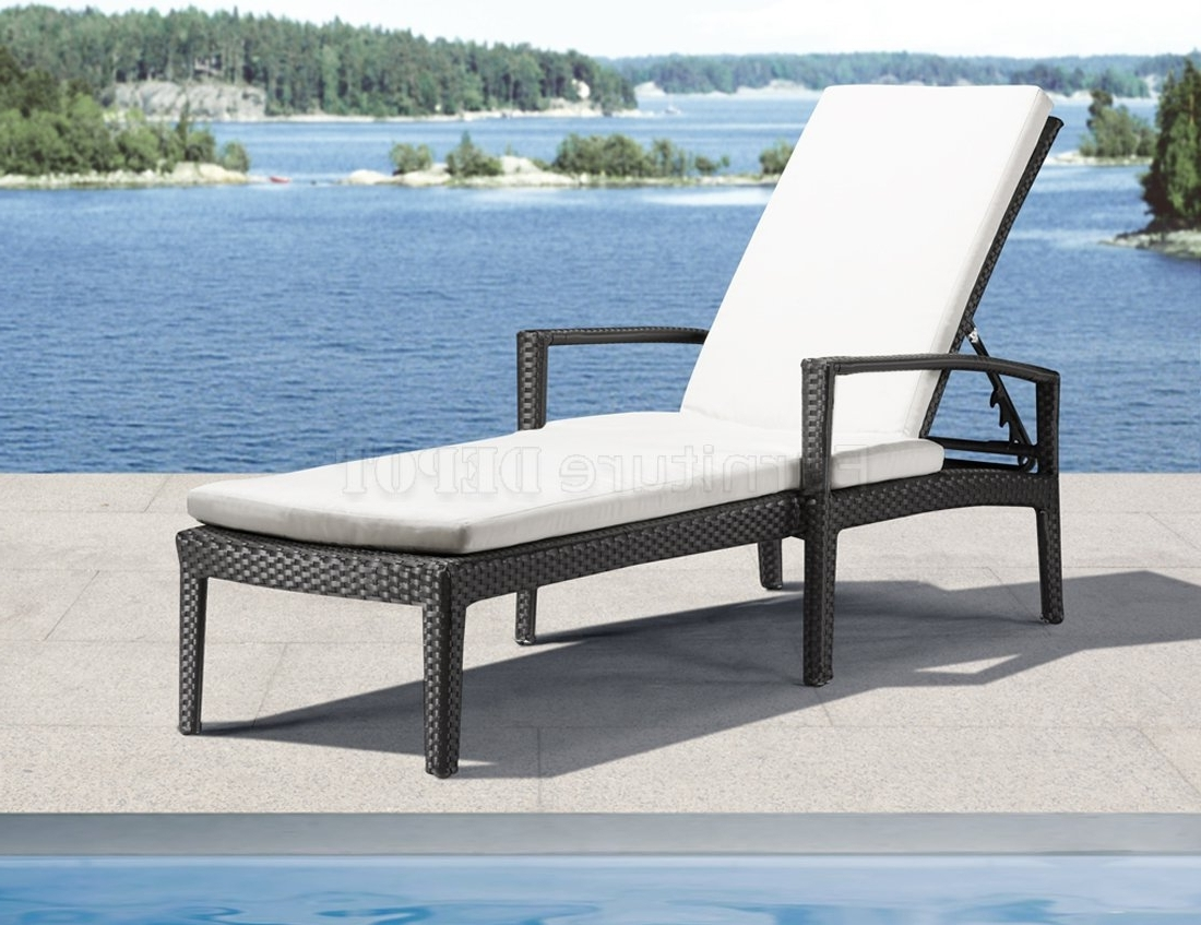Modern Outdoor Chaise Lounge Chairs • Lounge Chairs Ideas Within Favorite Contemporary Outdoor Chaise Lounge Chairs (View 8 of 15)