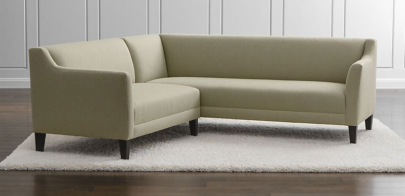Modern Sectional Sofas For Small Spaces With Trendy Best Modern Sectional Sofas For Small Spaces A Decorating (View 6 of 10)
