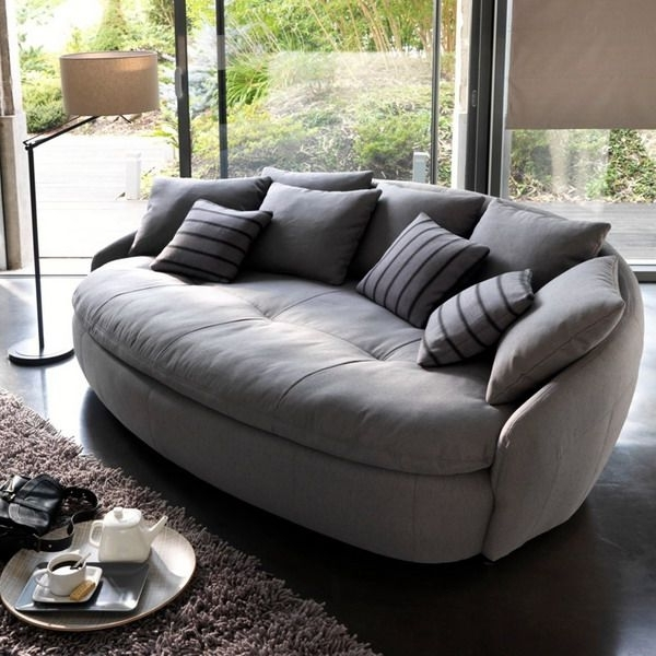 Modern Sofa, Top 10 Living Room Furniture Design Trends With Regard To Famous Big Round Sofa Chairs (View 3 of 10)