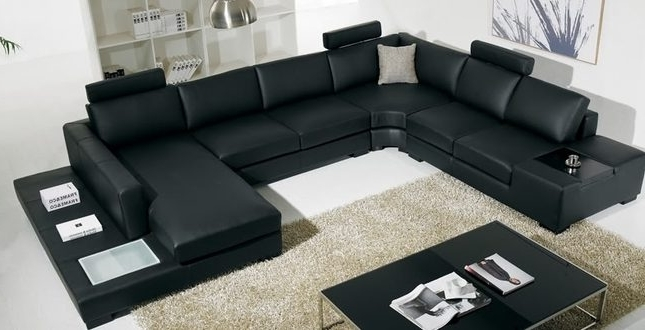 Modern U Shaped Sectional Sofas In Well Known Large U Shaped Sectional Sofas – Home And Textiles (View 3 of 10)