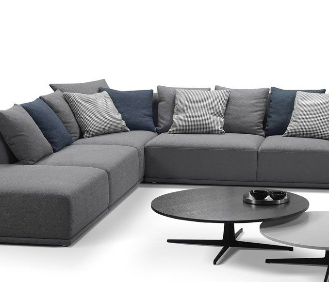 Modular Corner Sofas Pertaining To Most Up To Date Astonishing Modular Leather Corner Sofas 65 With Additional Home (View 7 of 10)