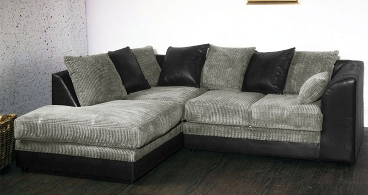 Most Current Cheap Black Sofas With Regard To Grey Sofas Cheap – Home And Textiles (View 8 of 10)