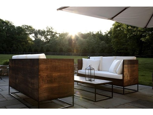 Most Current Emejing Modern Wood Outdoor Furniture Gallery – Liltigertoo Throughout Outdoor Sofa Chairs (View 10 of 10)
