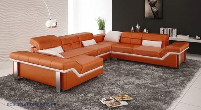 Most Current Free Shipping Modern Design, Best Living Room Furniture , Leather With Customized Sofas (View 9 of 10)