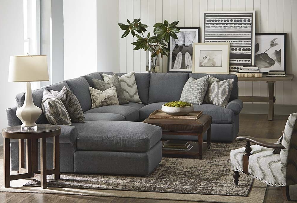 Most Current Gray U Shaped Sectionals Inside Sutton U Shaped Sectional (View 3 of 10)
