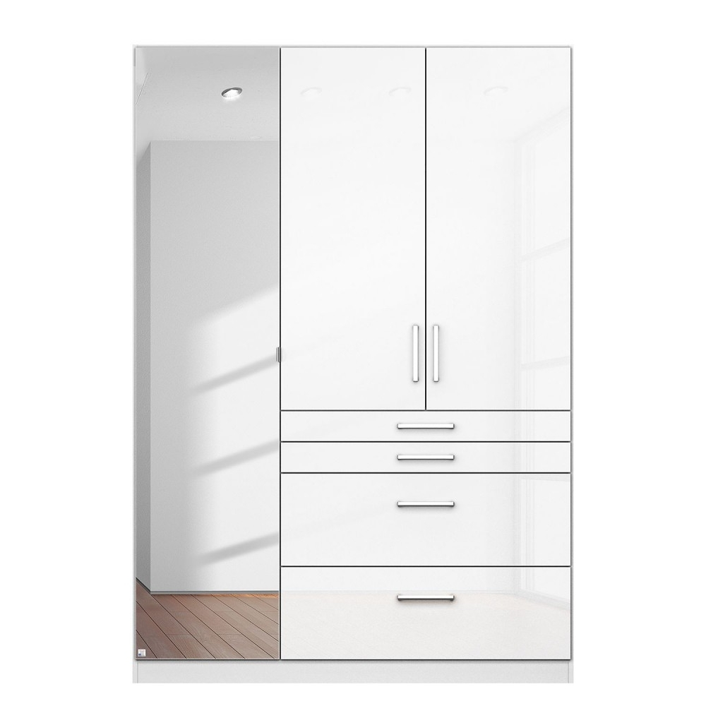Most Current High Gloss White Free Standing Wardrobes On Sale Cheap Inside Cheap Wardrobes And Chest Of Drawers (View 9 of 15)