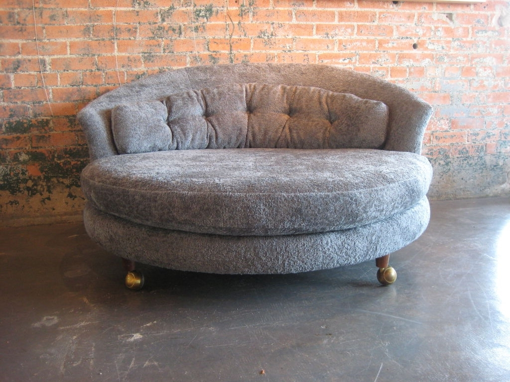 Most Current Large Round Lounge Chairs • Lounge Chairs Ideas In Round Chaise Lounges (View 4 of 15)