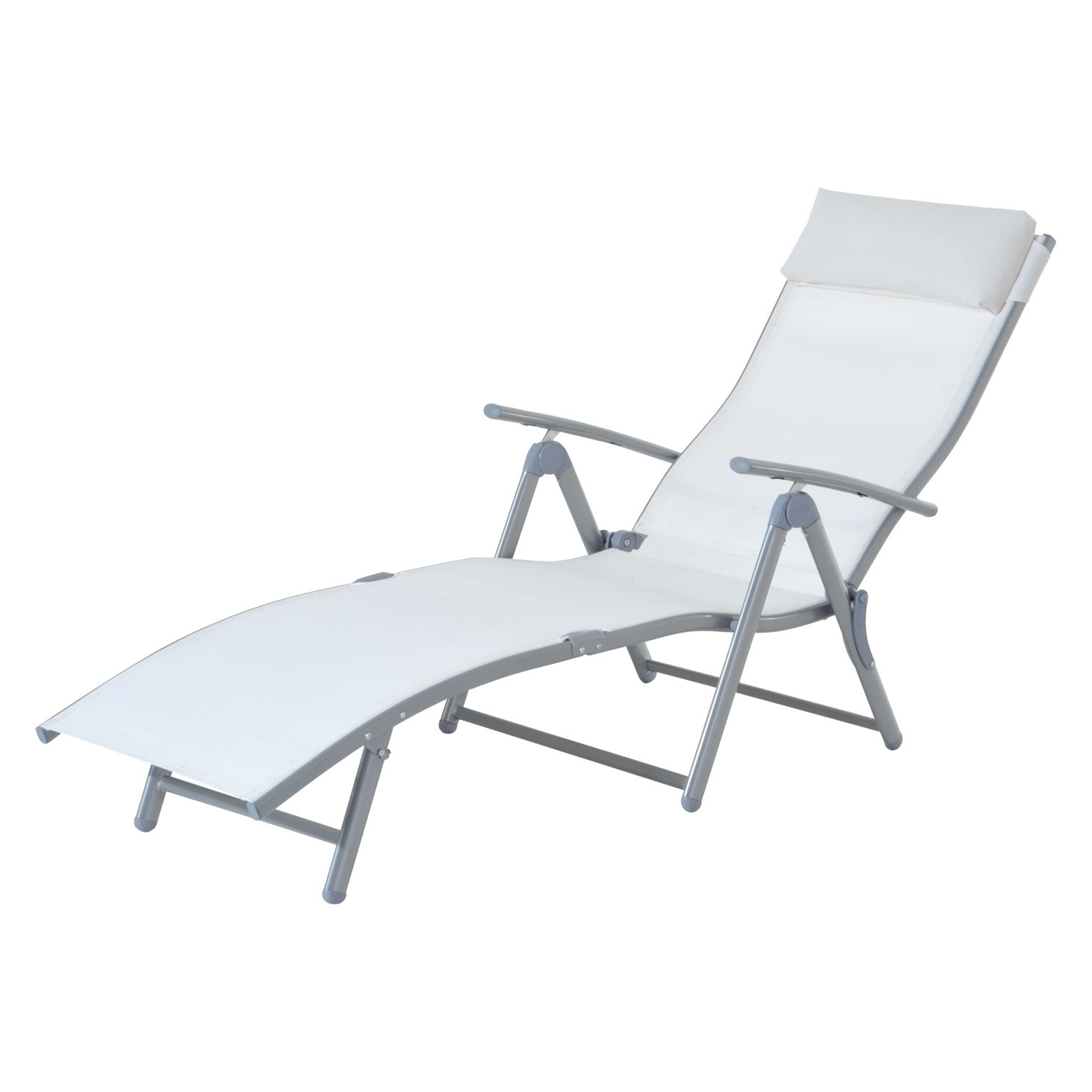 Most Current Outdoor : Lowes Chaise Lounge Indoor Outdoor Chaise Lounge Chairs Intended For Vinyl Strap Chaise Lounge Chairs (View 7 of 15)