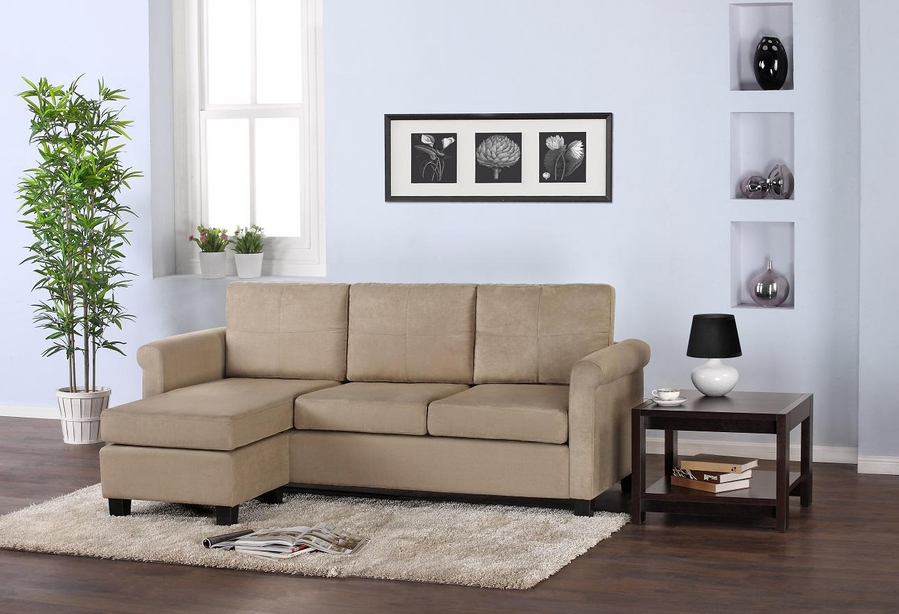 Most Current Small Sectional Sofa For Small Space With Rounded Arms Also Chaise For Chaise Lounge Chairs For Small Spaces (View 9 of 15)