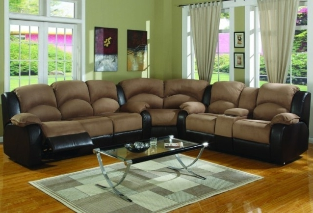 Most Current Sofa Beds Design: Breathtaking Traditional Suede Sectional Sofas With Leather And Suede Sectional Sofas (View 4 of 10)