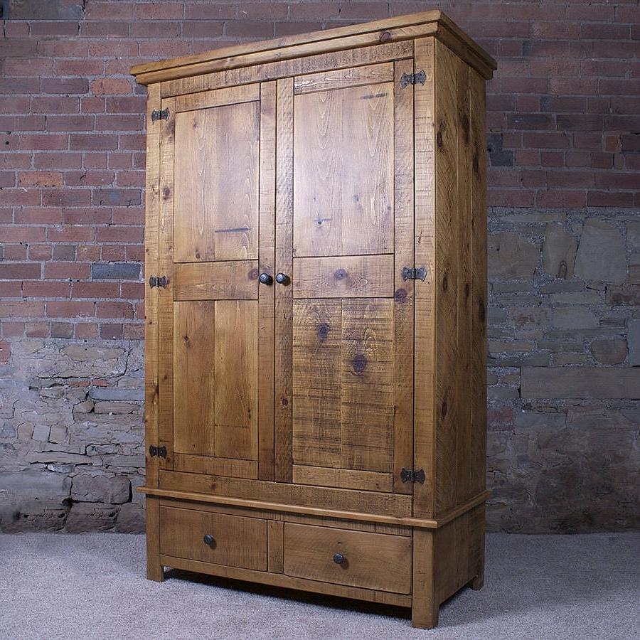 Most Current Solid Wood Gentlemen's Wardrobeh&f (View 6 of 15)
