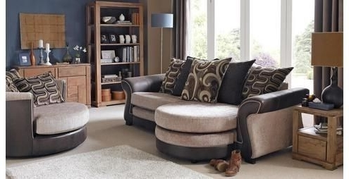 Most Popular 3 Seater Sofas And Cuddle Chairs With Regard To Dfs Charm 3 Seater Sofa & Swivel Cuddle Chair (View 12 of 15)