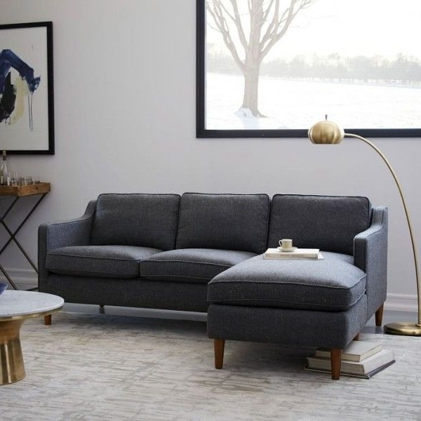 Most Popular 9 Seriously Stylish Couches And Sofas That Will Fit In Your Inside Apartment Sectional Sofas With Chaise (View 8 of 15)