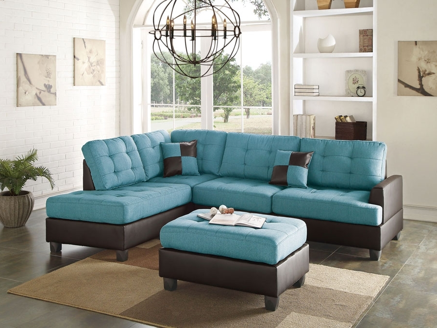 Most Popular Aqua Sofas Within Sectional Sofa: Discounted Sectional Sofas Discounted Sectionals (View 8 of 10)