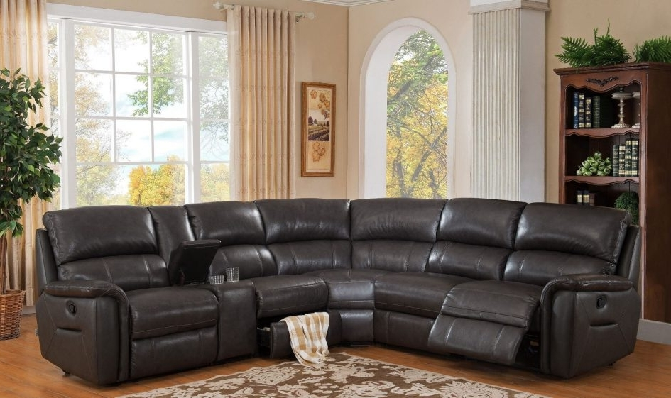 Most Popular Cheap Sectionals With Ottoman Inside Cheap Leather Sectionals Tan Leather Sectional Ottoman Couch (View 4 of 10)