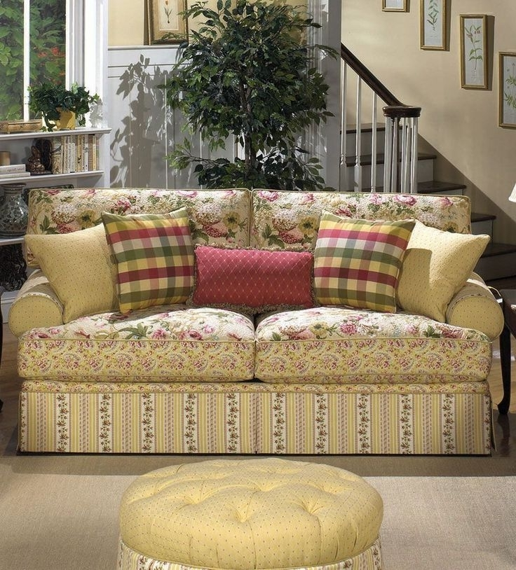 Most Popular Country Style Sofas Within Country Style Couch Cottage Style Sofas Living Room Furniture Best (View 9 of 10)