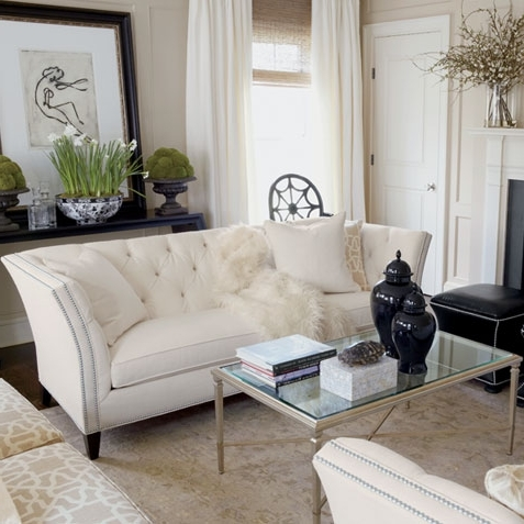 Most Popular Ethan Allen Sofas And Chairs In Shop Living Rooms (View 6 of 10)
