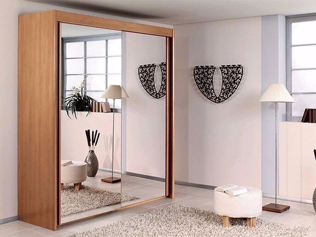 Most Popular Full Mirrored Wardrobes Regarding Brand New Berlin Wardrobe Full Mirror 2 Door Sliding Door With (View 6 of 15)
