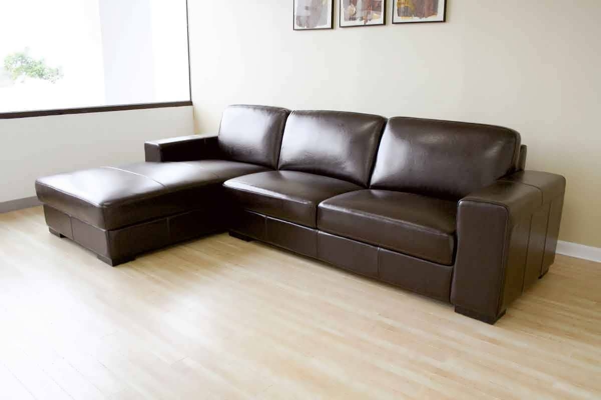 Most Popular Leather Sofas With Chaise Throughout Sofa : Cheap Leather Sofas Chaise Sofa Small Leather Sofa White (View 9 of 15)